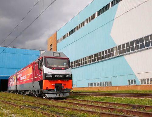 Ролик о работе электровоза 2ЭС7 на Байкало-Амурской магистрали