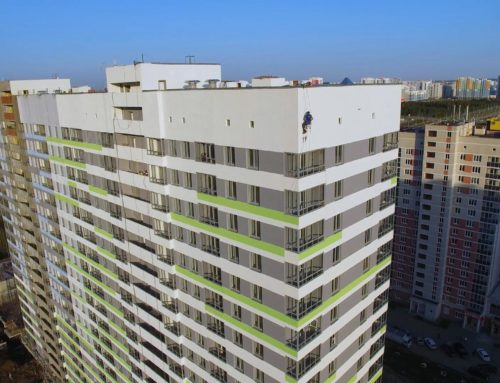 Ролик о строительстве второй очереди жилого комплекса «Перемена» в Екатеринбурге