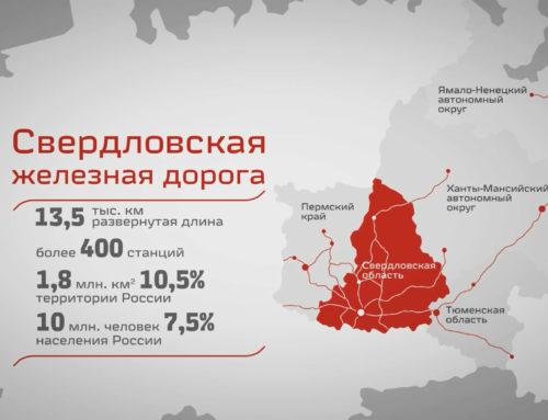 Видеофильм о Свердловской железной дороге — филиале ОАО «РЖД»
